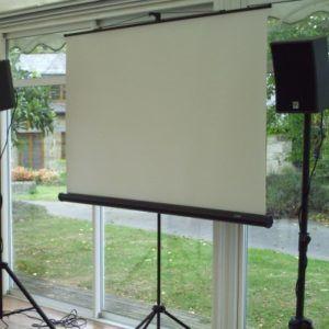 Location vidéo écrans de projection